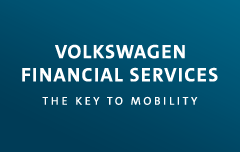 Logo Volkswagen Financial Services THE KEY TO MOBILITY